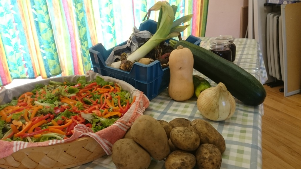 Free donations from local growers